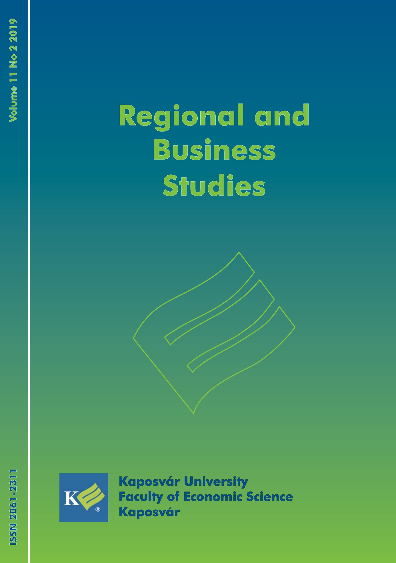 View Vol. 11 No. 2 (2019): Regional and Business Studies
